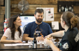 Adroit Theory Brewing Co. in Purcellville (photo by Aboud Dweck/Visit Loudoun).