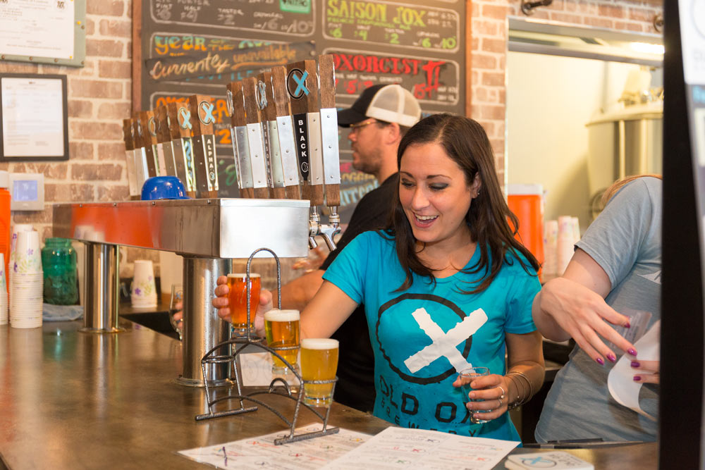 Enjoy a pint or refill a growler at Old Ox Brewery located along the W&OD Trail in Loudoun.