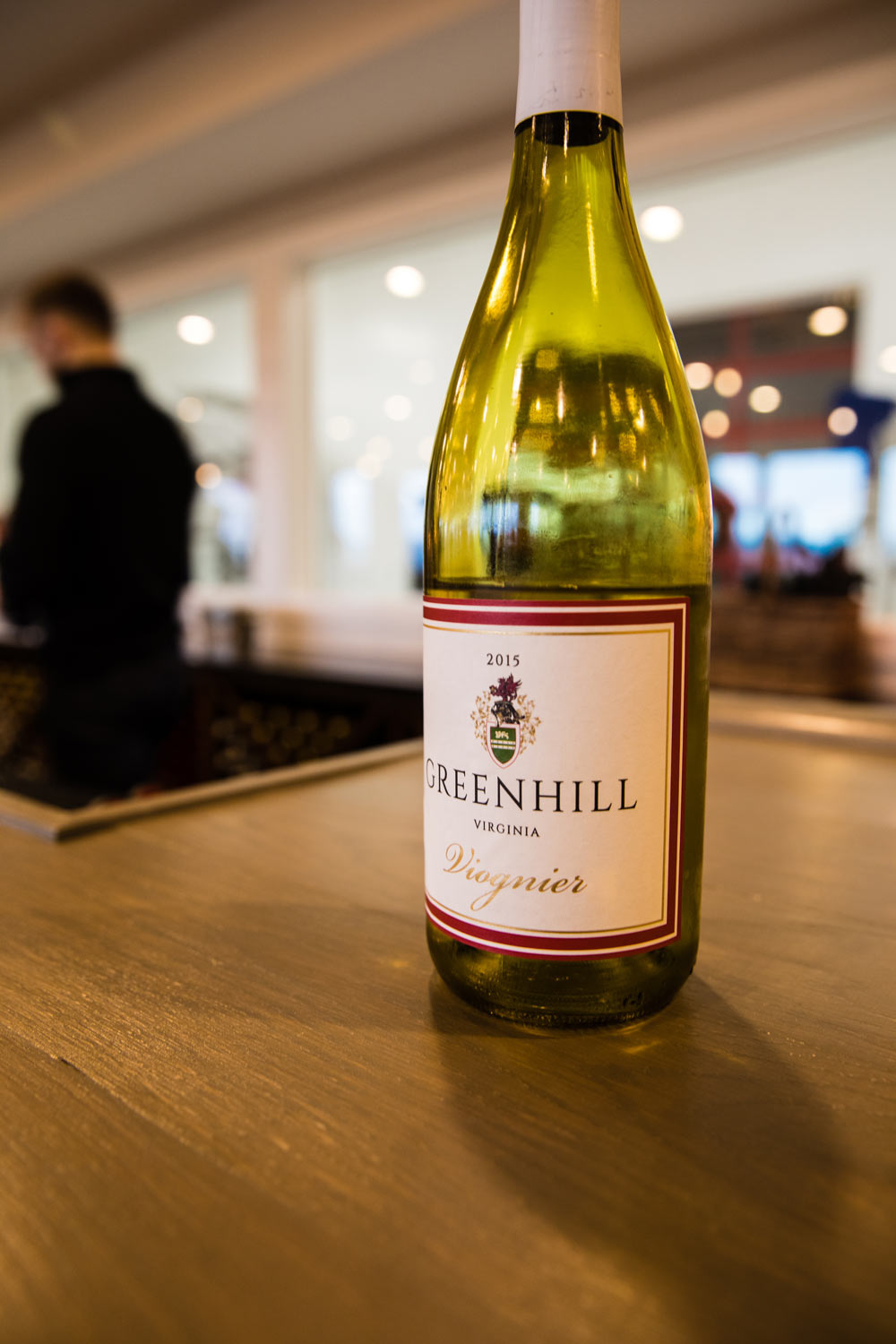 The Greenhill Viognier was one of several wines poured at the opening events.