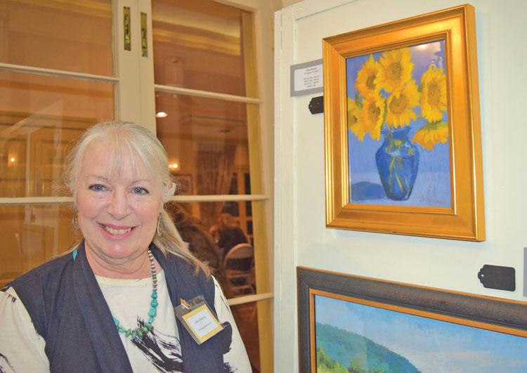 Award winning artist, Libby Stevens. Visit her studio, Loudoun Street Studio.