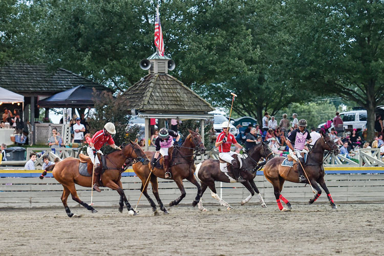 Twilight Polo at Great Meadow starts back up in May in The Plains, Virginia. (courtesy of Greenhill Media)