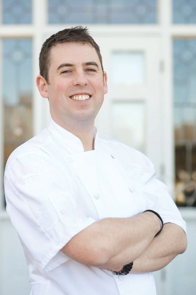 Chef Tom Whitaker. Photo credit Krystal Kast Photography.