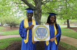 Araba & Kwesi Dadzie at Graduation.