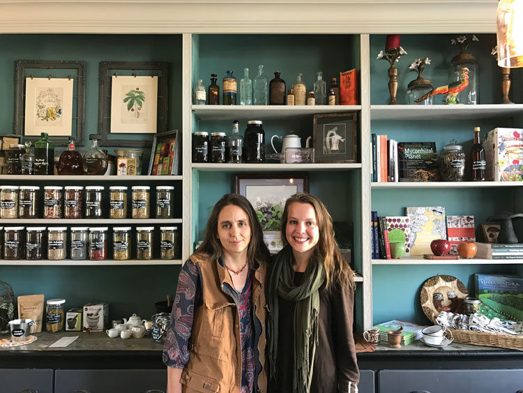 Owner Susan Leopold (left) and manager Christine Harris (right).