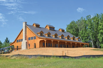 Mt. Defiance is building a new tasting room. Just east of Middleburg on Route 50.