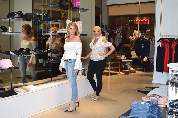 Alexa and Krista at their MGM National Harbor store.