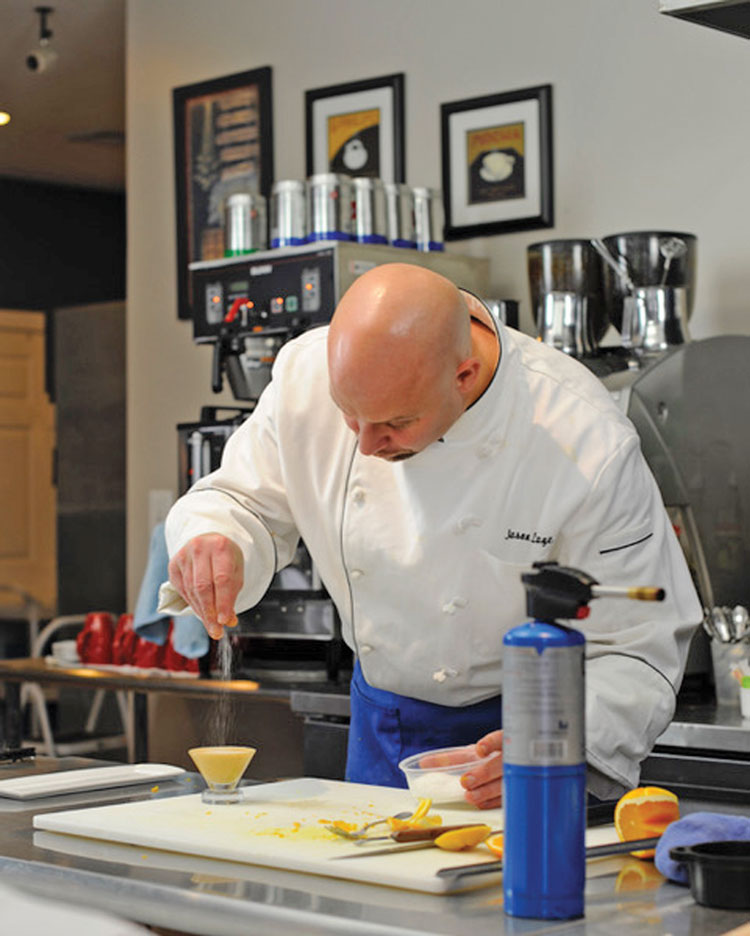 Chef Jason Lage of Market Table Bistro. Photo courtesy of Rebecca Dudley.