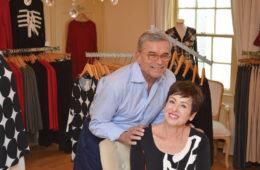 Robin and Rick at Duchessa.
