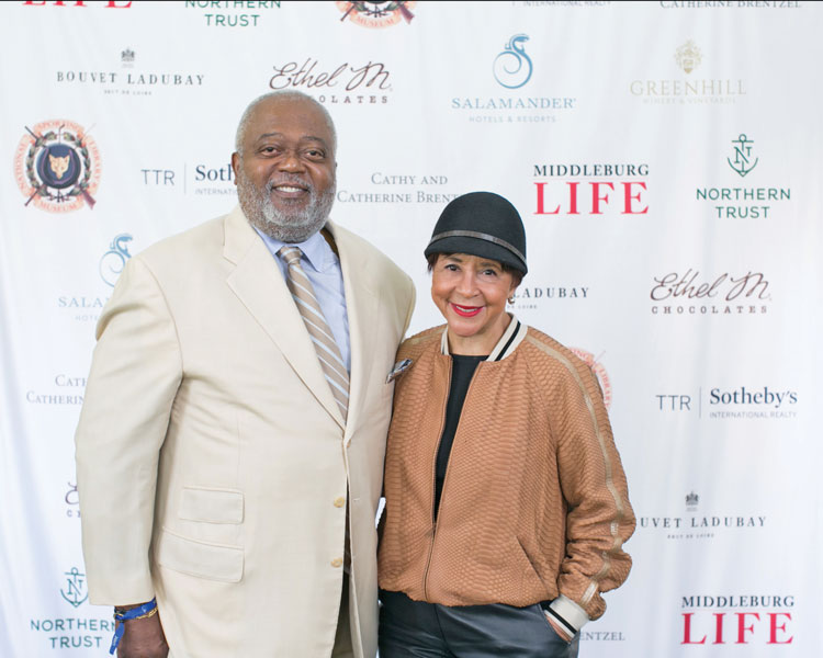 Bill Newman and Sheila Johnson. Photo by Julie Napear Photography