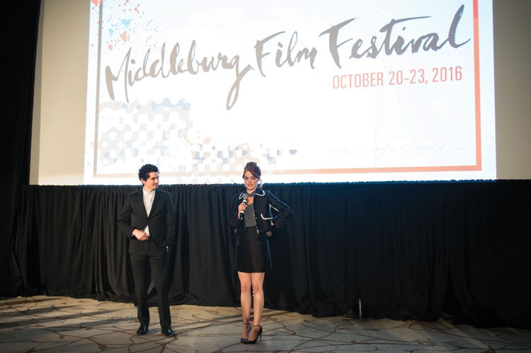 Actress Emma Stone and Director Damien Chazelle at last year's event.