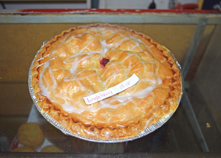 Jingleberry pie from The Upper Crust  – Middleburg Life