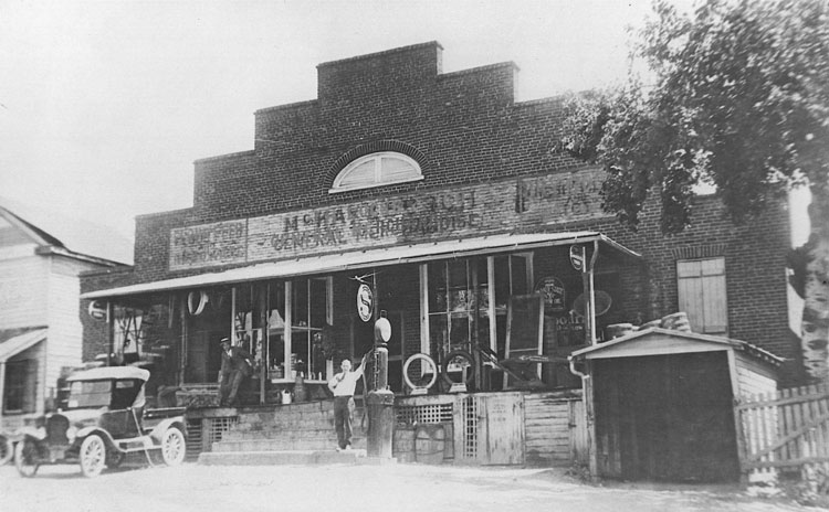 From the earlier days of the Locke Store location. Photo courtesy of Locke Store