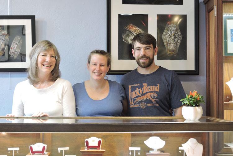Claire, Carolyn and Logan Cutshall.