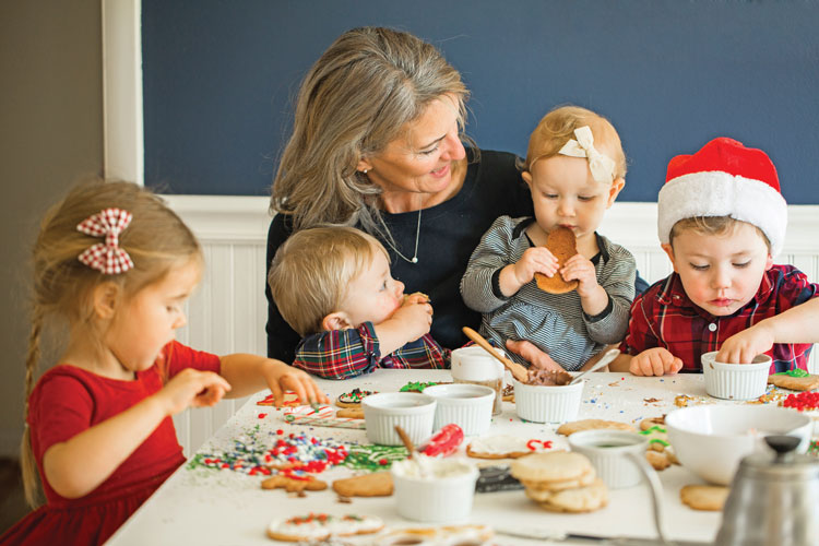 There's nothing better than decorating sugar cookies and making Christmas memories with Grandma.