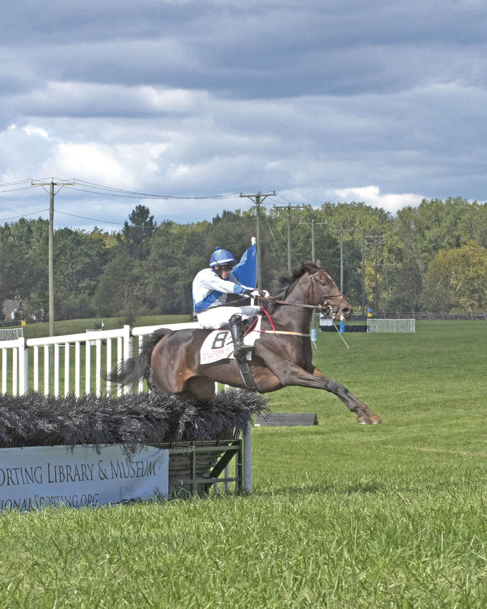 Undisclosed owned by Sharon Sheppard and ridden by Barry Foley won the Theodora A. Randolph Cup.