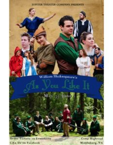 As You Like It by Jupiter Theater Company @ Camp Highroad