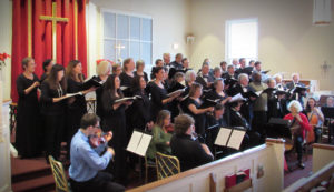 """The Virginia Schiller Community Chorus Presents: MOZART'S """"SOLEMN VESPERS"""" and songs about the Moon from around the world @ Holy Trinity Lutheran Church"""