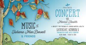 Friends Concert for Mental Health @ Franklin Park Arts Center |  |  |
