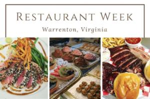 Old Town Warrenton Restaurant Week @ Old Town Warrenton |  |  |