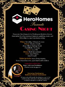 HeroHomes Casino Night Fundraiser @ Shadow Creek |  |  |