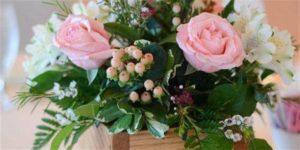 Wine & Design: Valentine Fresh Flower Basket @ Bluemont Vineyard        